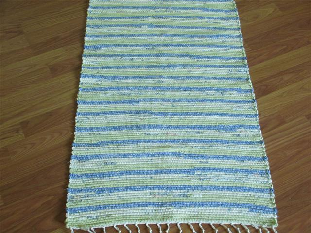 Blue, Green, Ivory 2 x 3 ft. Kitchen And Bath Rug