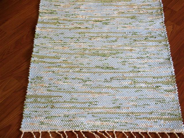 Blue, Green 2 x 3 ft. Kitchen And Bath Rug