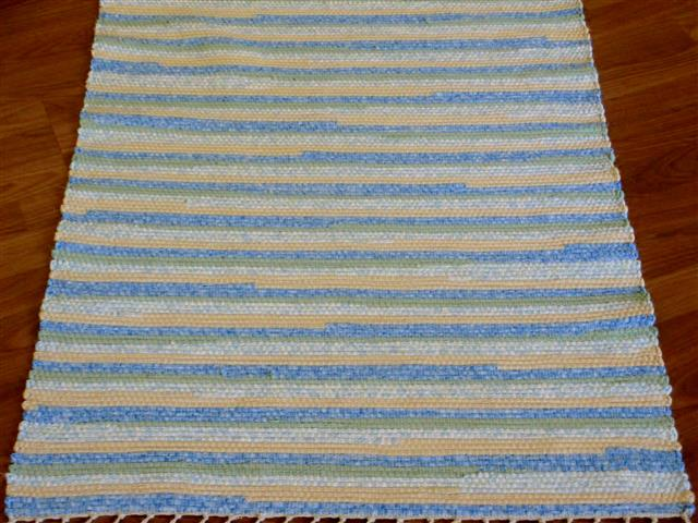 Blue, Yellow, Green 2½ x 3½ ft. Kitchen And Bath Rug