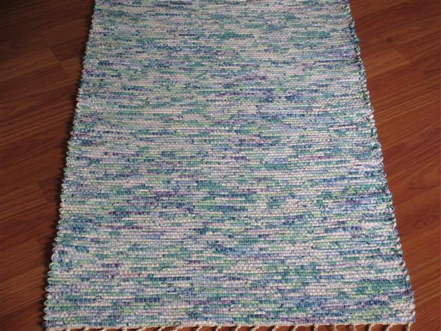Green, Purple 2 x 3 ft. Kitchen And Bath Rug