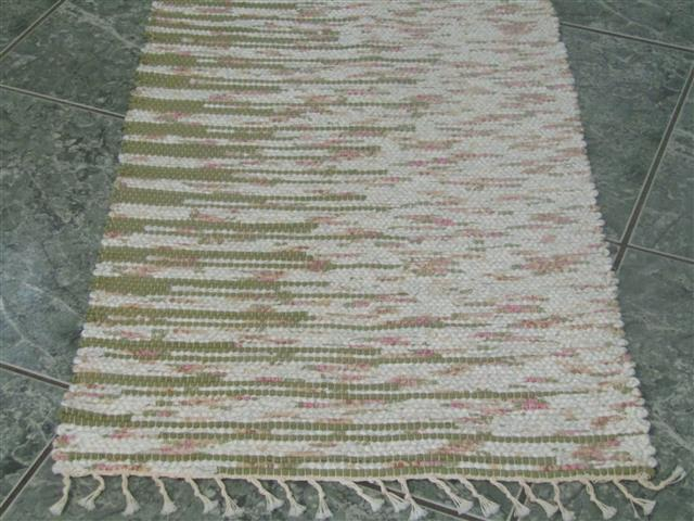 Green, Floral 2 x 3 ft. Kitchen And Bath Rug