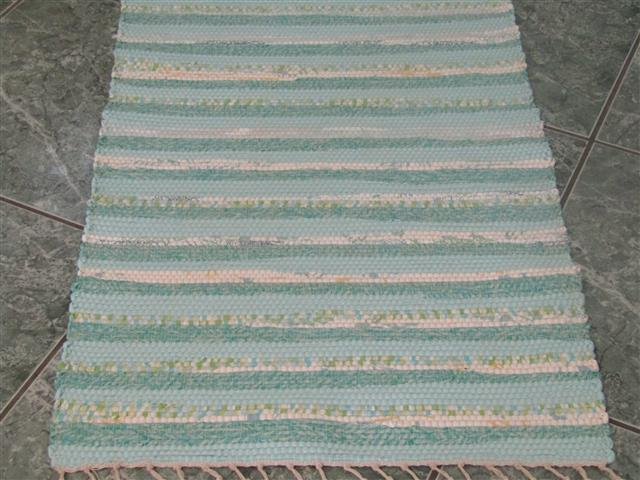 Aqua, Green 2 x 3 ft. Kitchen And Bath Rug