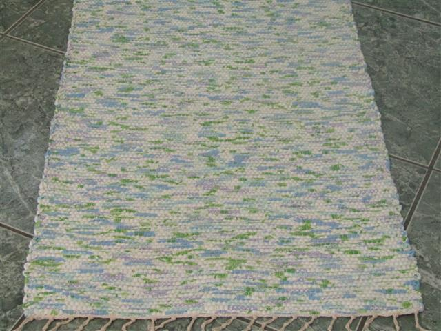 Blue, Green, Purple 2 x 3 ft. Kitchen And Bath Rug