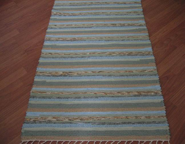 Blue, Sage, Beige Runner