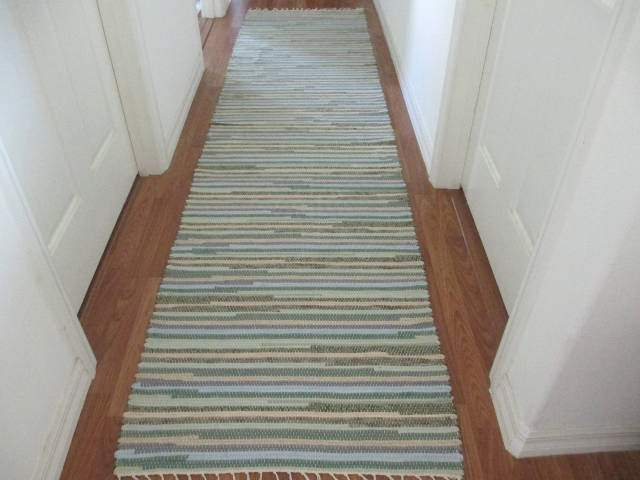 Sage, Grey, Blue, Beige Runner