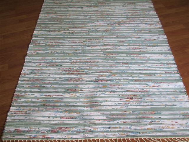 Sage, Rose, White 4 x 6 ft. Area Rug