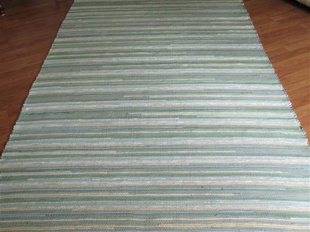 Sage, Beige, Blue 5 x 8 ft. Area Rug