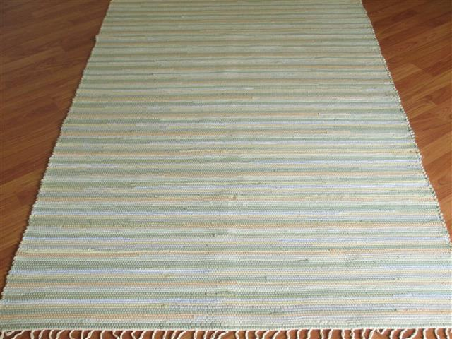Sage, Beige, Grey, Blue 4 x 6 ft. Area Rug