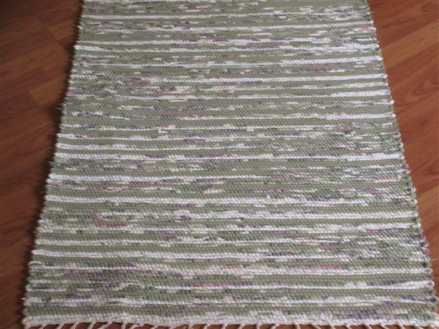 Green, Plum 2½ x 3½ ft. Kitchen And Bath Rug
