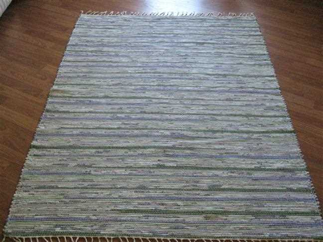 Purple, Lilac, Green 4 x 6 ft. Area Rug