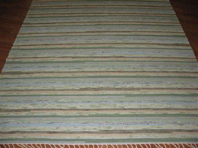 Sage, Grey, Blue 5 x 8 ft. Area Rug