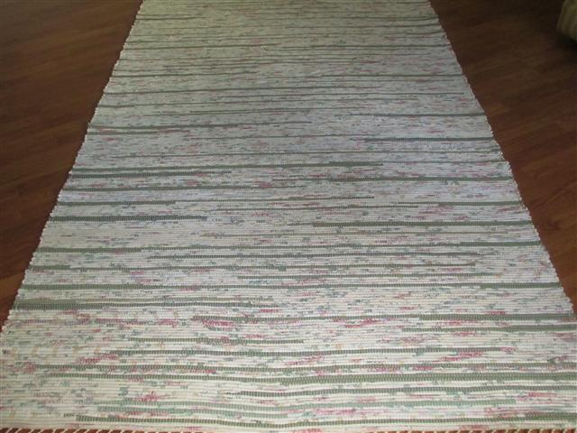 Sage, Ivory, Rose 5 x 8 ft. Area Rug
