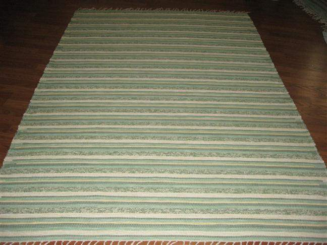 Green, Maize 5 x 8 ft. Area Rug