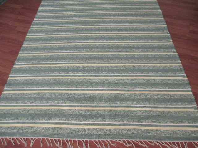 Green, Maize, Ivory 5 x 8 ft. Area Rug