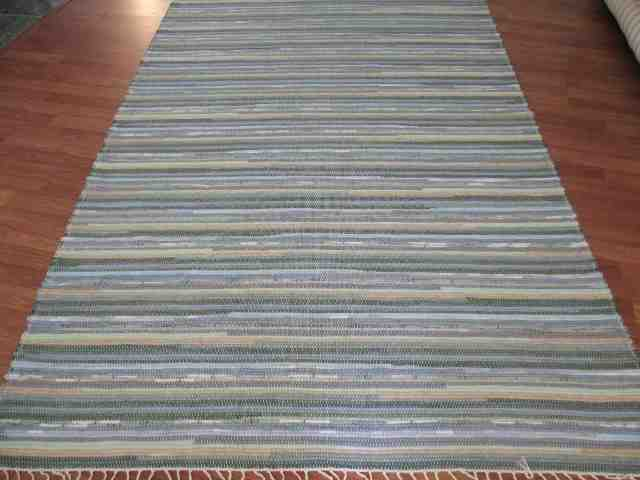 Sage, Blue, Beige 5 x 8 ft. Area Rug