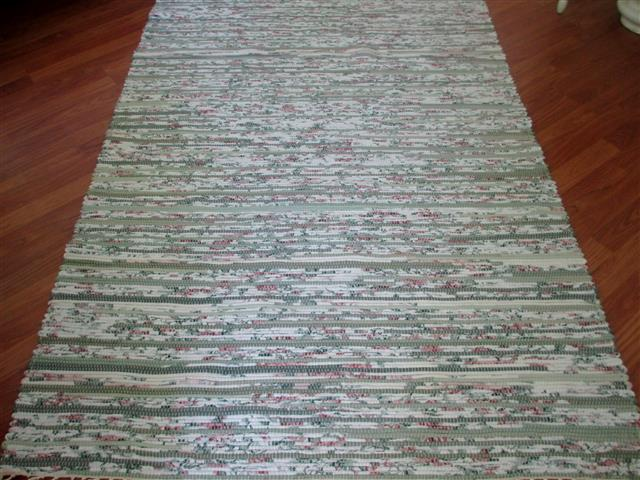 Sage, Rose, Ivory 4 x 6 ft. Area Rug