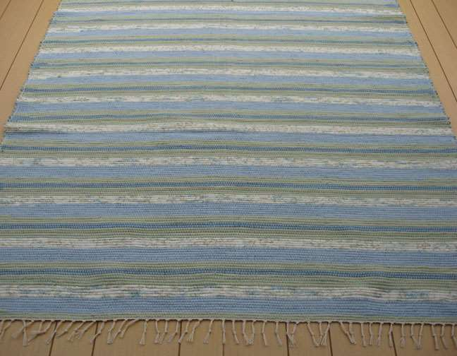 Blue, Green 5 x 8 ft. Area Rug