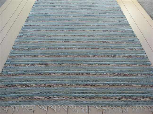 Green, Sage, Beige 5 x 8 ft. Area Rug