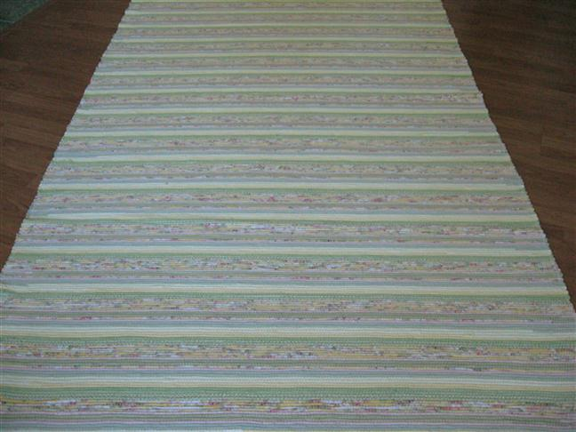 Yellow, Green, Pink 5 x 8 ft. Area Rug