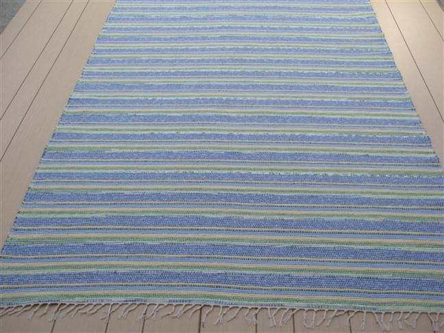 Blue, Green, Yellow 5 x 8 ft. Area Rug